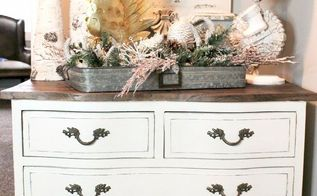 chippy blue dresser calm white dresser, painted furniture
