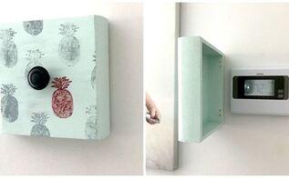 decorative thermostat cover