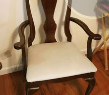 how to reupholster dining chair seats, how to, reupholster