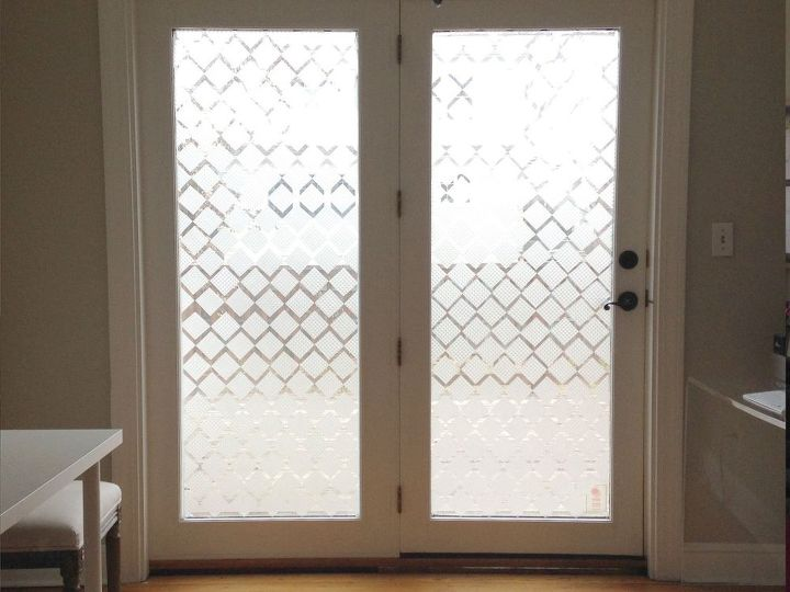 Privacy Glass Using Contact Paper Hometalk