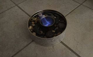 simple indoor outdoor fire bowl