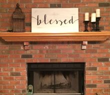 blessed sign, crafts
