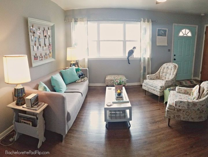 updating decorating a midcentury living room on a budget hometalk