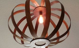 pendant lamp from recycled wood, lighting