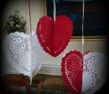 easy to make paper heart doilies
