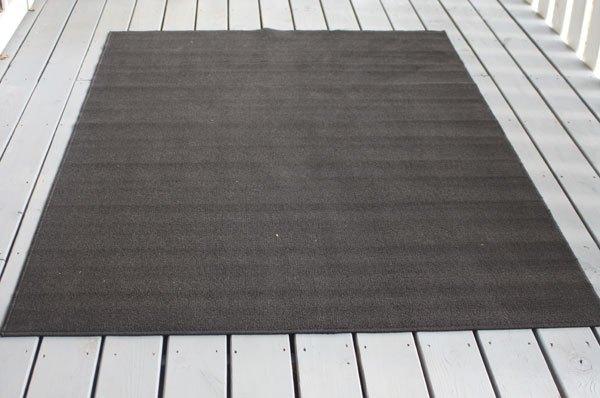 diy outdoor rug, reupholster