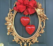 a diy valentine s wreath with a picture frame, crafts, seasonal holiday decor, valentines day ideas, wreaths