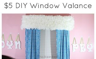 5 diy window valance