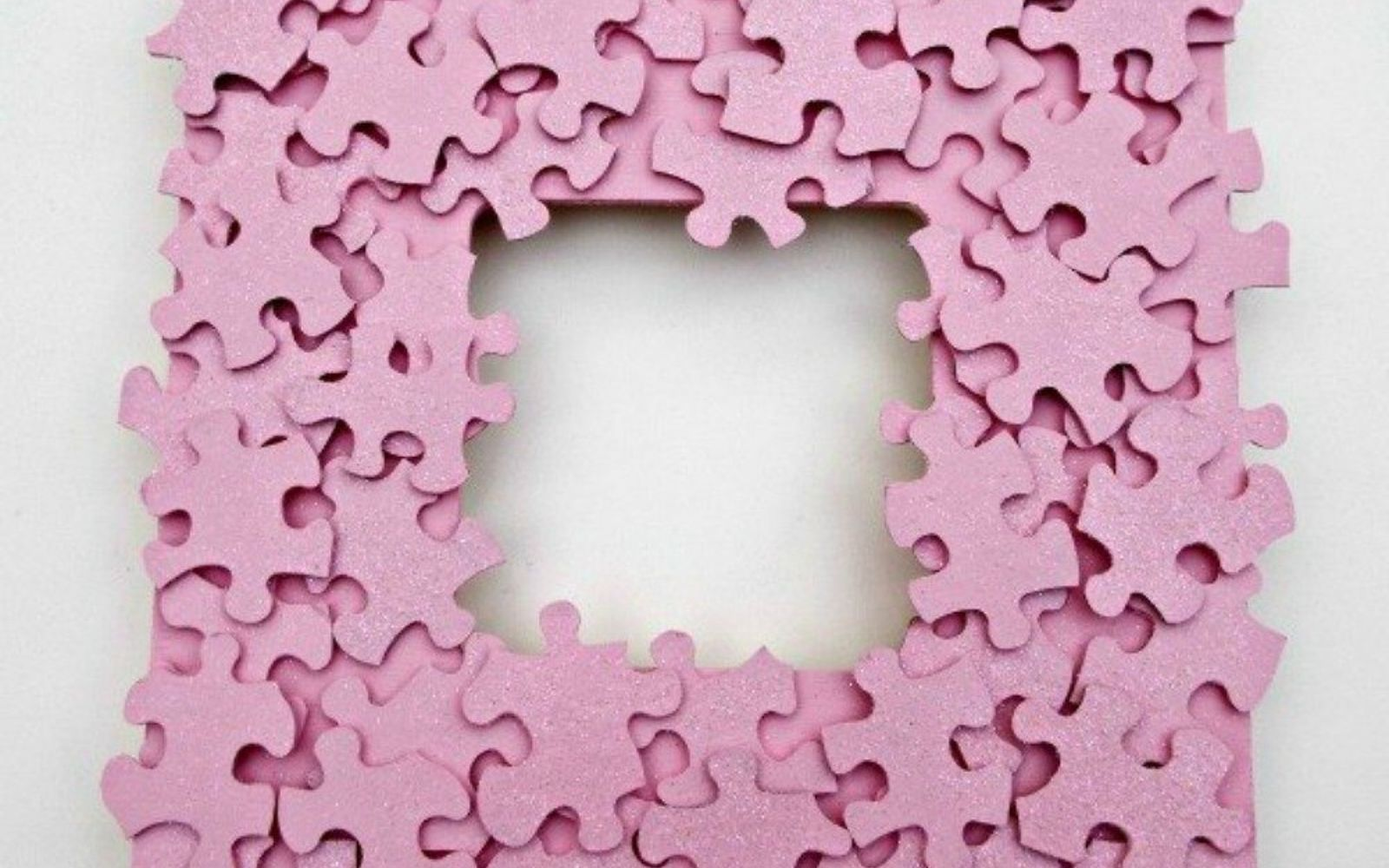 s 20 heartfelt valentine s day gifts for under 20, seasonal holiday decor, valentines day ideas, Or make a puzzle piece picture frame