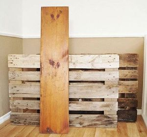 s shut thefront door these pallet furniture ideas are breathtaking, doors, painted furniture, pallet