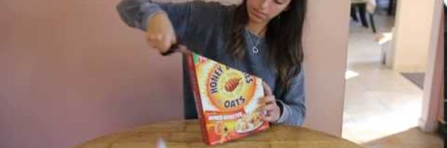 q useful ways to repurpose a cereal box