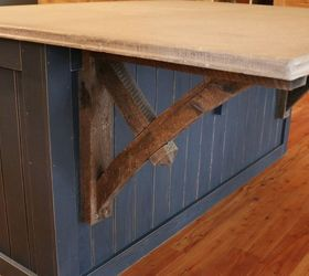 How To Make A Kitchen Island With A Concrete Countertop Start Finish,  Concrete Masonry,
