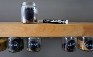 diy spice jar storage, storage ideas