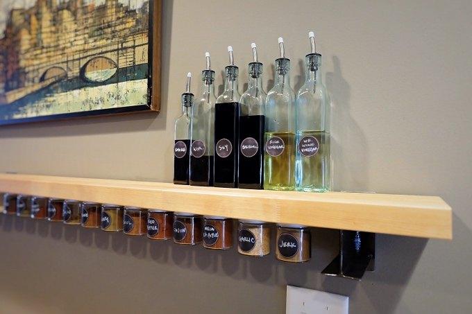 DIY Spice Jar Storage | Hometalk