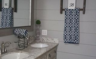ugly 1970 s bathroom gets a farmhouse inspired makeover, bathroom ideas