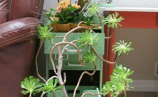 indoor gardening filing cabinet makeover, gardening, kitchen cabinets, kitchen design