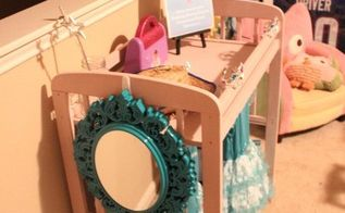 changing table to diy dress up station tutorial, how to, painted furniture