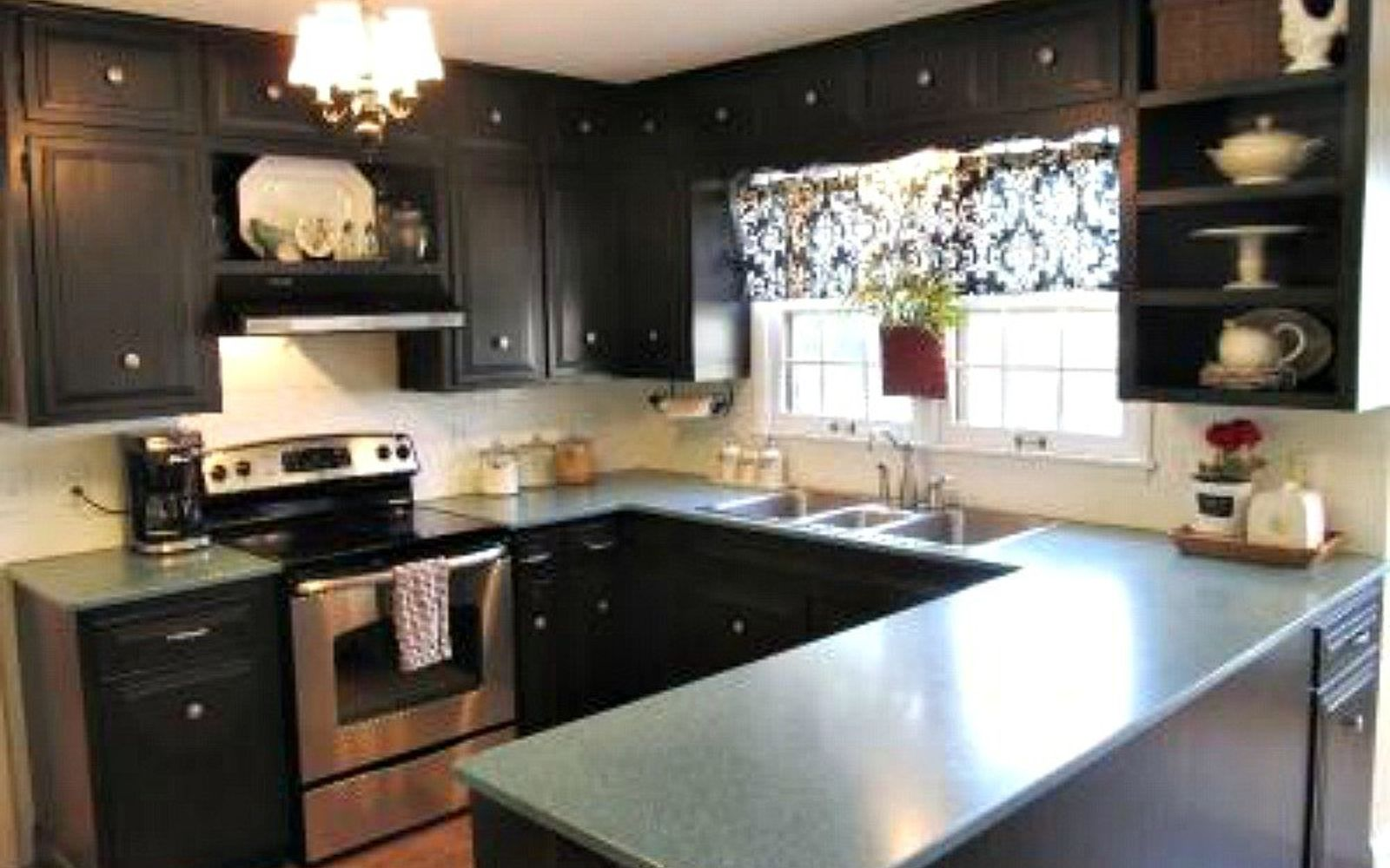 painting kitchen cabinets with homemade chalk paint reasons white design black diy distressed