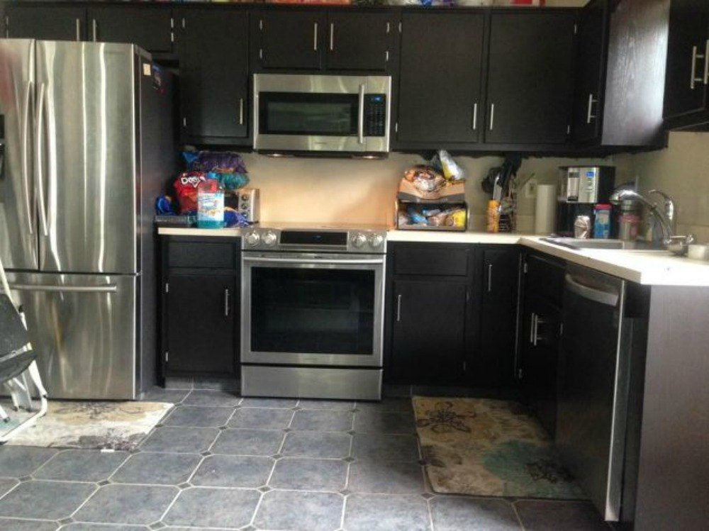 12 reasons not to paint your kitchen cabinets white hometalk for Repainting kitchen cabinets white