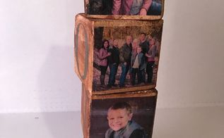 diy photo transfer cubes