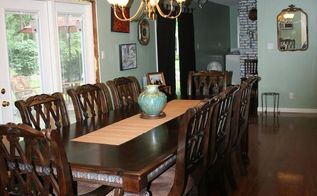 remodeled dinning room and living room, home improvement