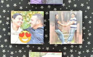 diy mini pallet photo magnets, pallet