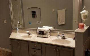 q bathroom vanity revamp, bathroom ideas