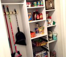 diy custom pantry, closet