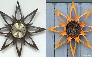 sunflower garden decor a repurposed project, flowers, gardening, home decor