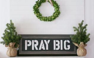 diy farmhouse sign upcycle, crafts