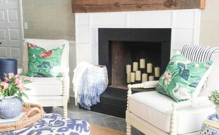 great room renovation reveal