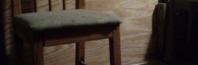 q can i clear coat this sanded table without staining painting it, painted furniture, woodworking projects