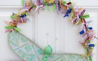spring dragonfly wall or door decoration, doors