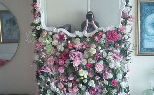 flowery fireplace updo, fireplaces mantels
