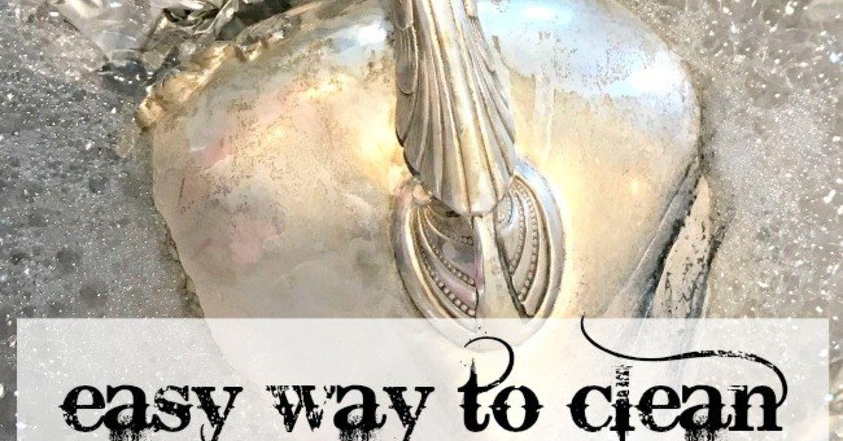 Easy Way To Clean Sterling Silver Heirlooms Hometalk