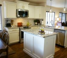 the builder basic kitchen makeover reveal, kitchen design