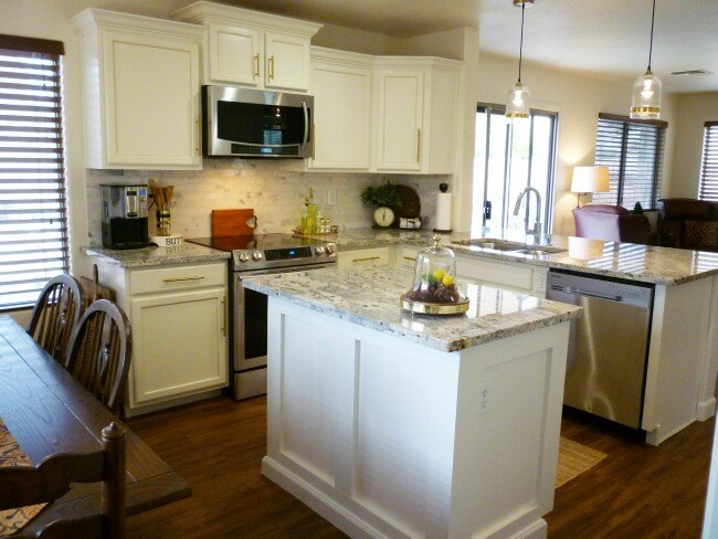The Builder Basic Kitchen Makeover Reveal Hometalk