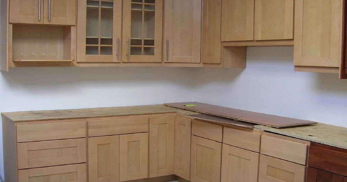 Picking the right wood species for your cabinet doors for Kitchen cabinet wood types