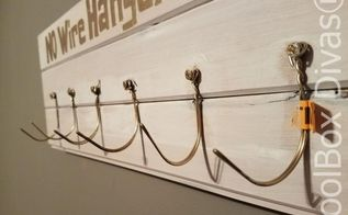 repurpose wire hangers by creating a coat rack
