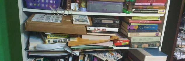 q too many books how can i organize this mess, organizing