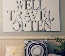 large diy quote art without a cutting machine, crafts
