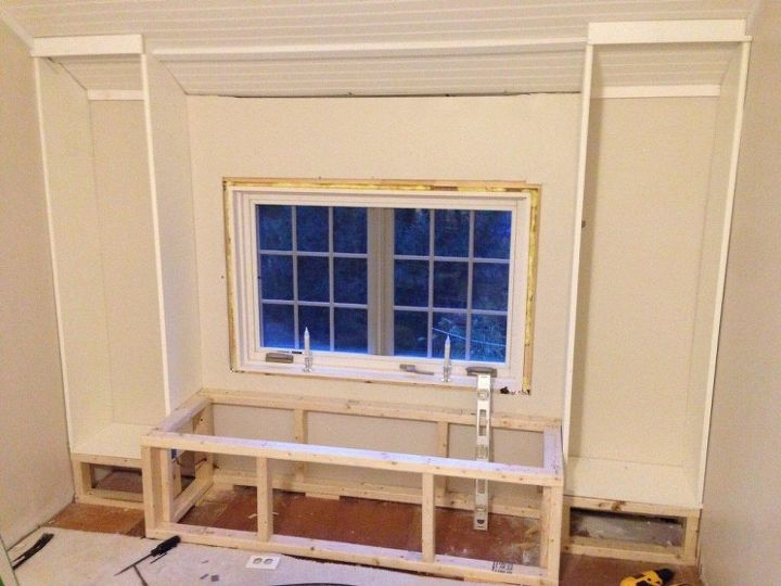 Diy Bookcase And Window Seat Hometalk