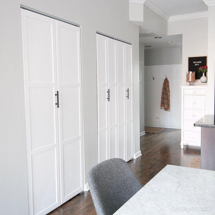 How to Add Trim to Plain Bifold Doors | Hometalk
