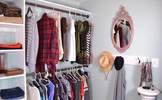 closet organization system with prayer meditation area, closet, organizing
