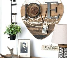 3 ways to use a diy scrap wood heart all year around