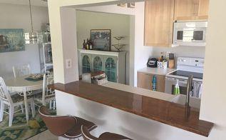 updating ugly 80s galley kitchen, kitchen design, Love it