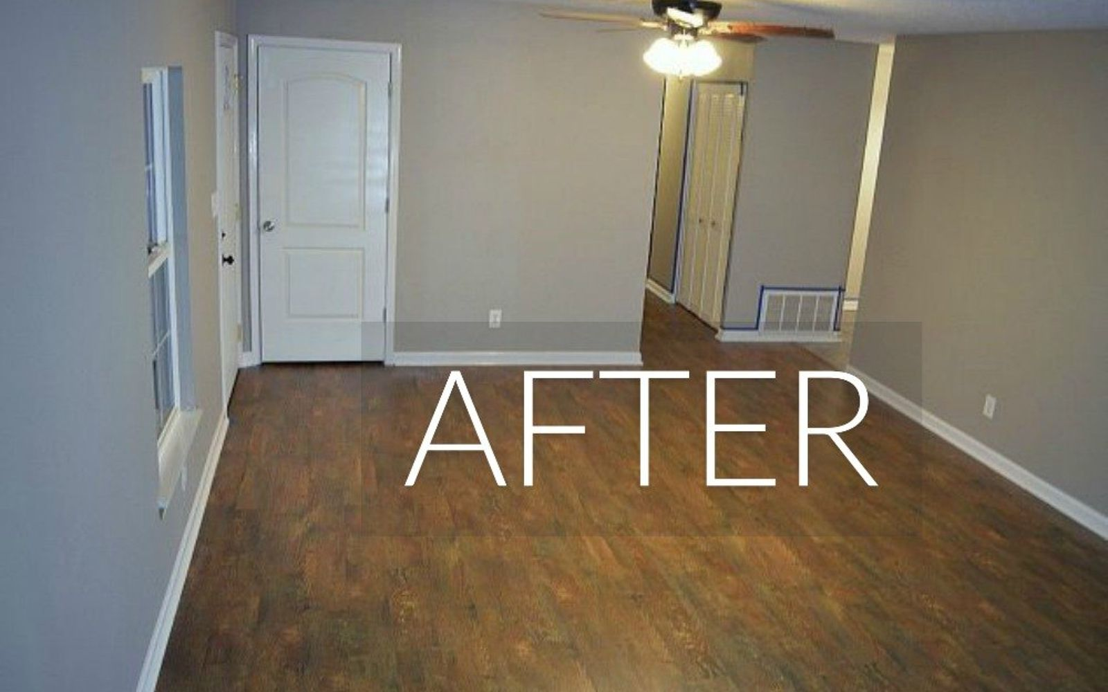 s 7 floor transformations that ll convince you to get rid of your carpet, flooring, reupholster, After Fun barnwood floors