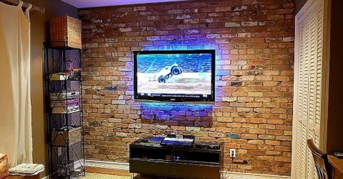 How To Build An Interior Reclaimed Brick Veneer Wall Hometalk