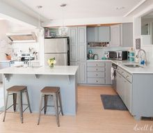how to paint kitchen cabinets with chalk paint, chalk paint, how to, kitchen cabinets, kitchen design, painting