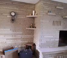 q need ideas for limestone brick wall please, concrete masonry